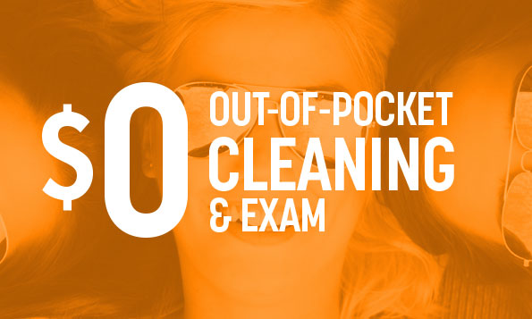 special offer on out-of-pocket cleaning and exam