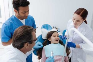 a child benefits from a family dentistry practice